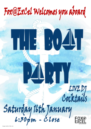 The London Boat Party ExCel