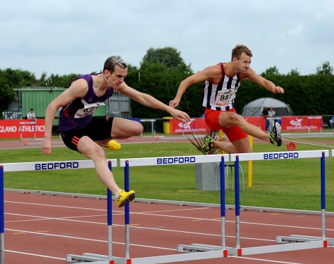 Winter Hurdling Lee Valley Athletic Centre
