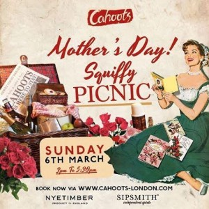 Mother's Day Squiffy Picnic Cahoots