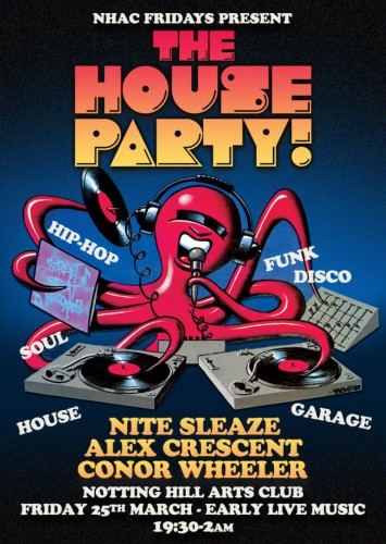 NHAC House Party