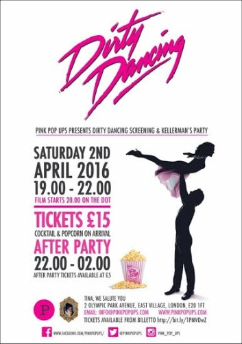 Pop up Dirty Dancing