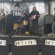 An Indie Rock Band at Rough Trade Records