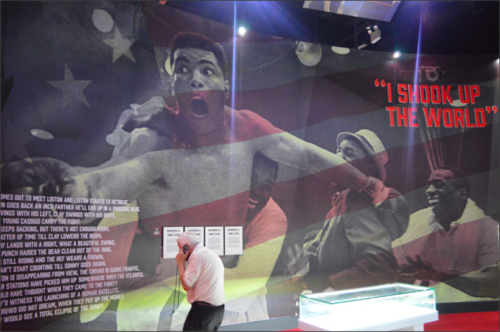 Muhamad Ali Exhibition O2 London
