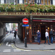 Literary Pub - Pillars of Hercules