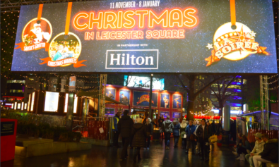 X'mas at Leicester Square