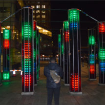 Canary Wharf Winter Lights Festival