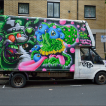 White Van Graffiti