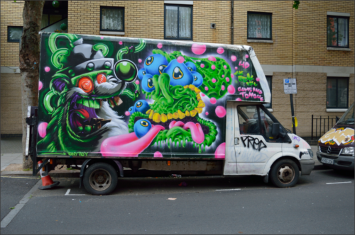 cf3289185e5c White Van Graffiti