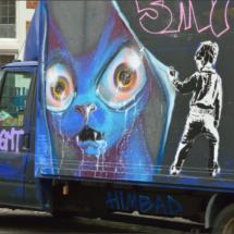 White Van Graffiti