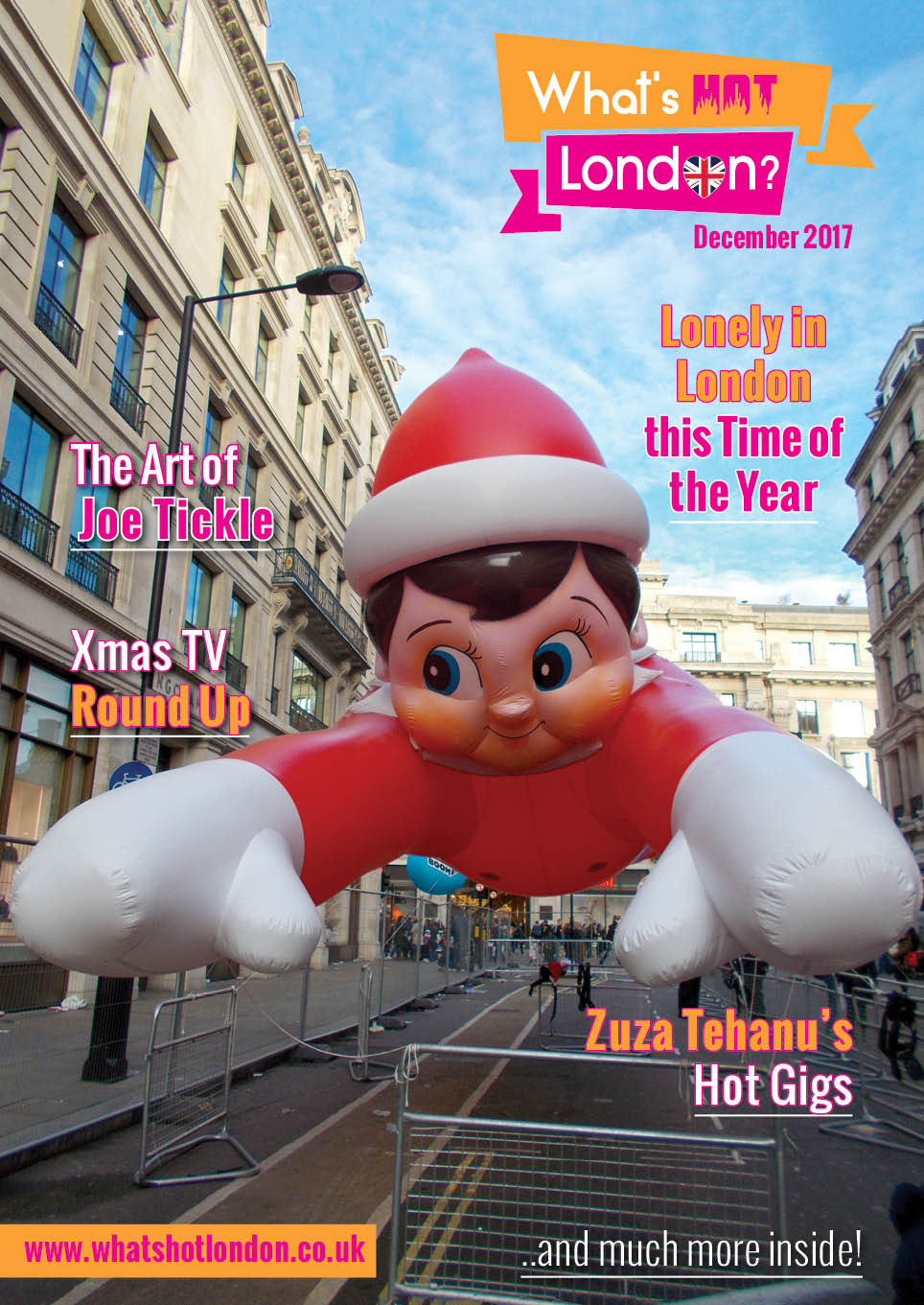 What's Hot London? Magazine December 2017