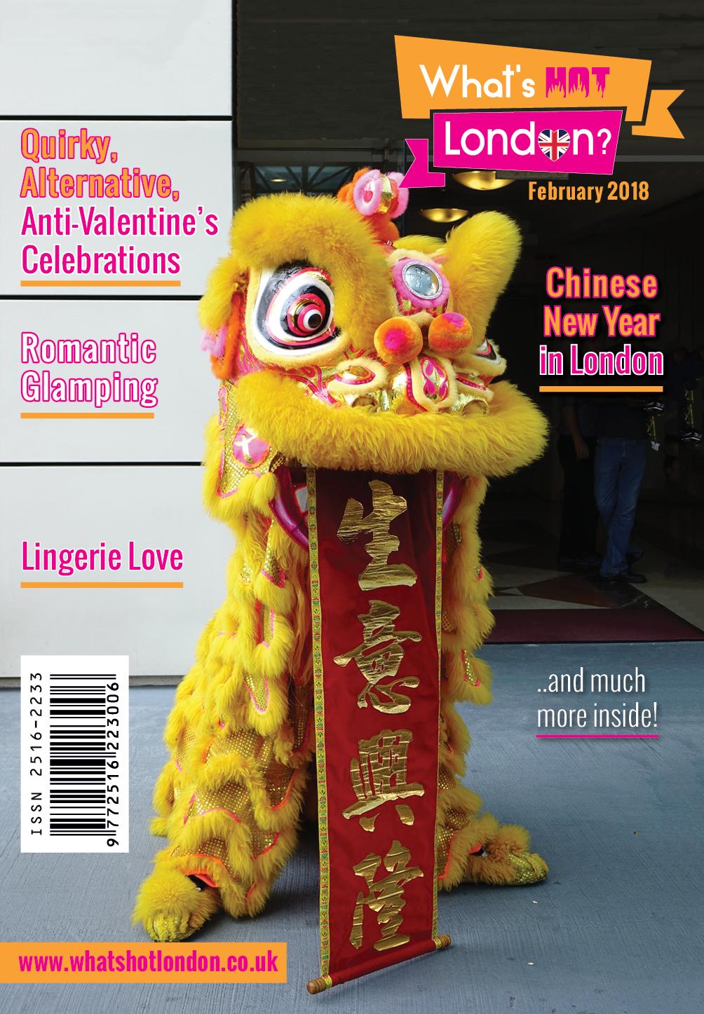 What's Hot London? Magazine February 2018