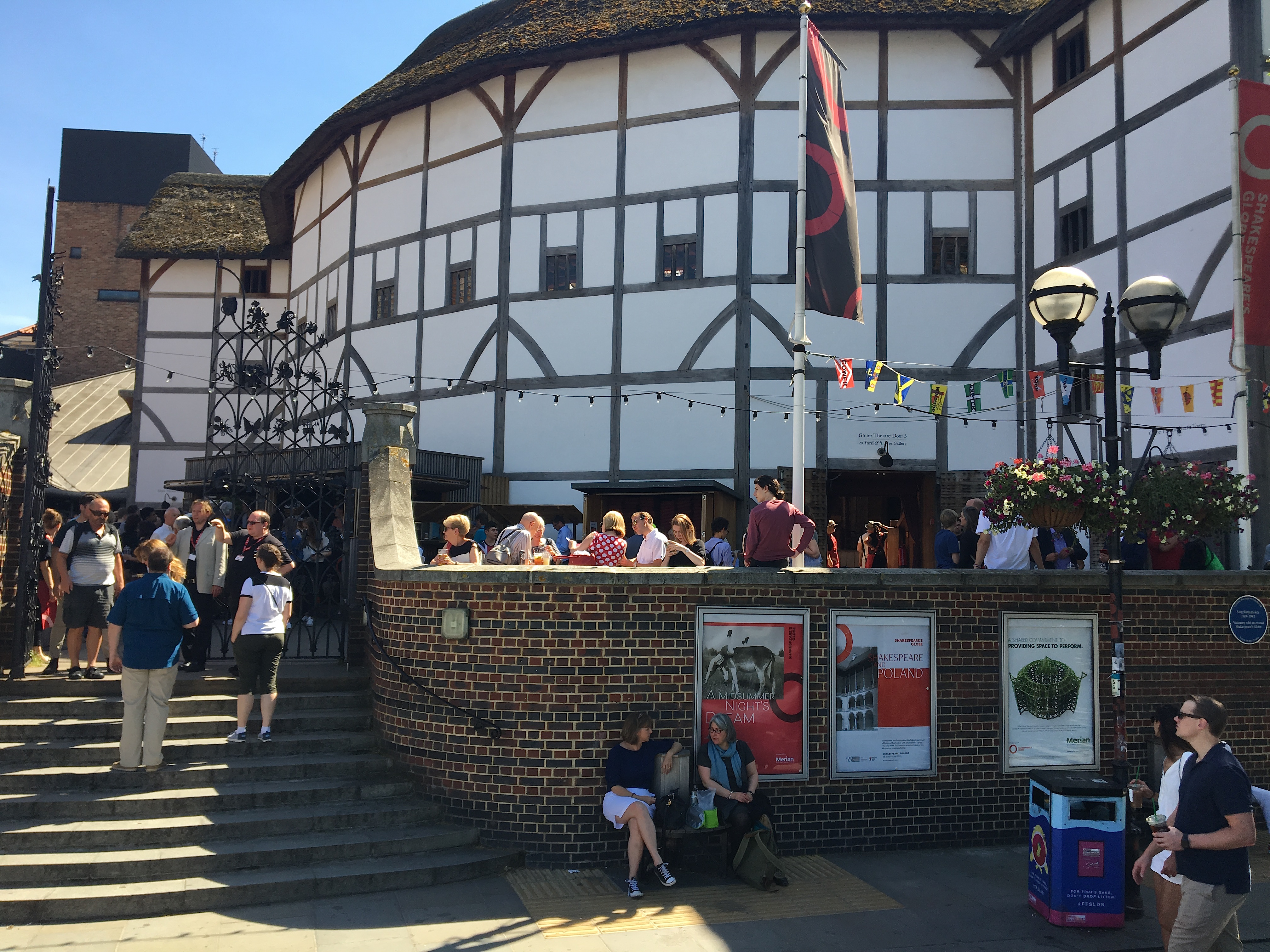 The Globe Theatre, Bankside