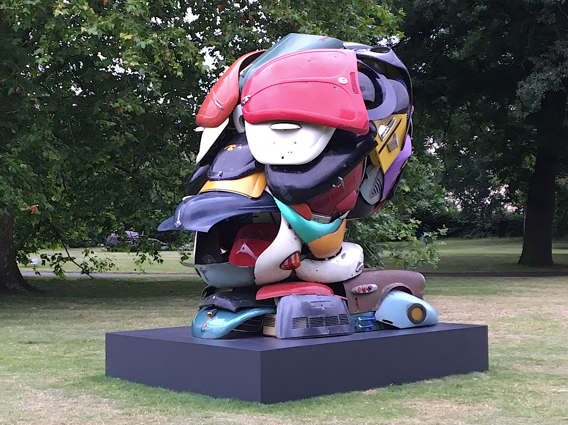 Frieze sculpture at Regents Park