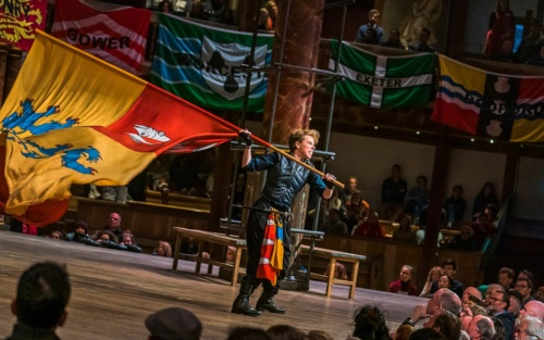 Michele Terry as Hotspur, Henry IV