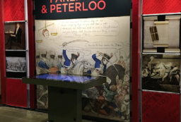 Parliament & Peterloo exhibition in Parliament
