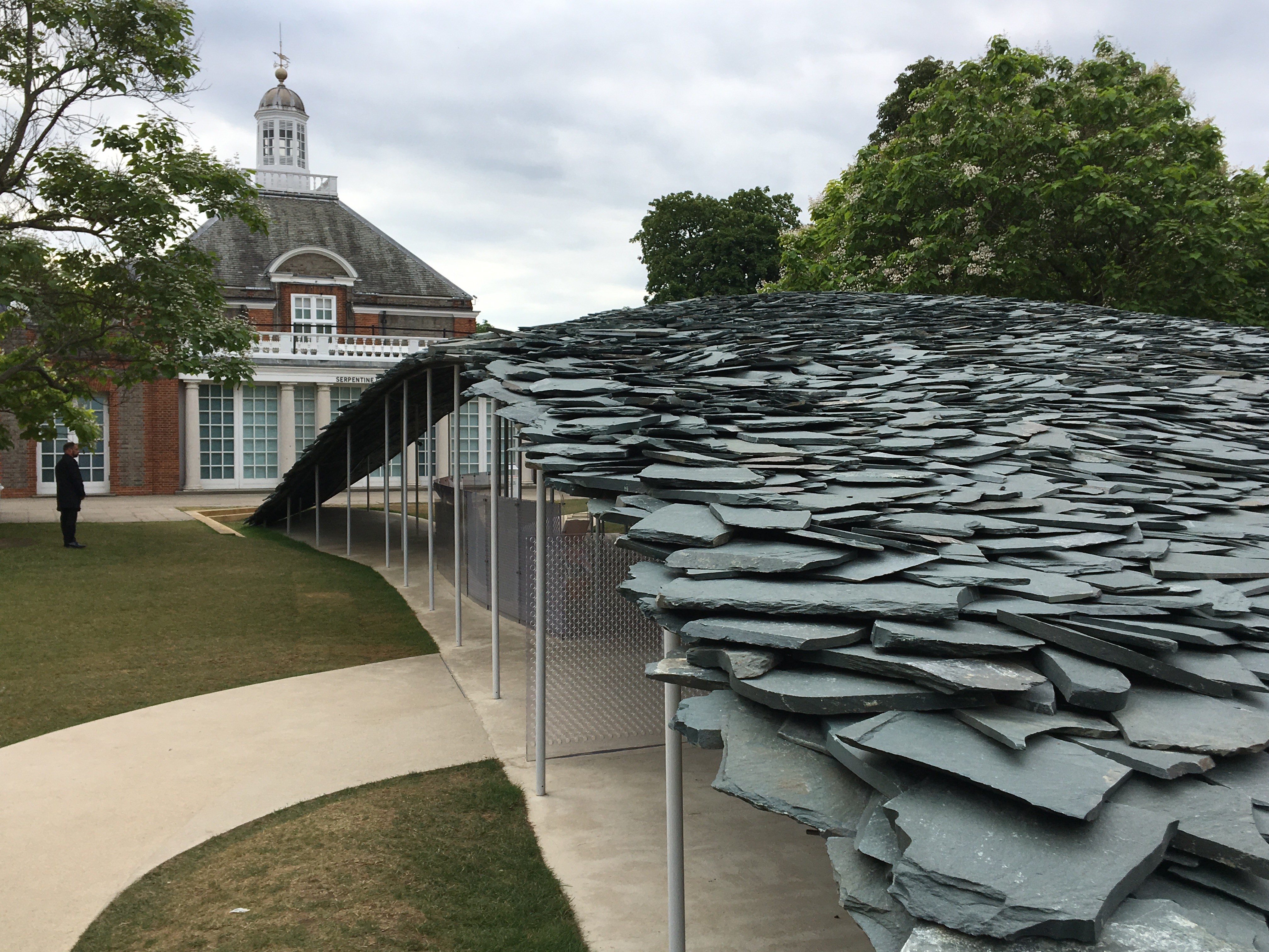 Junya Ishigami's Serpentine Pavilion architecture