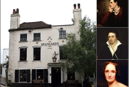 Spaniards Inn, London's oldest pubs, Lord Byron, Percy Shelly, Mary Shelly.