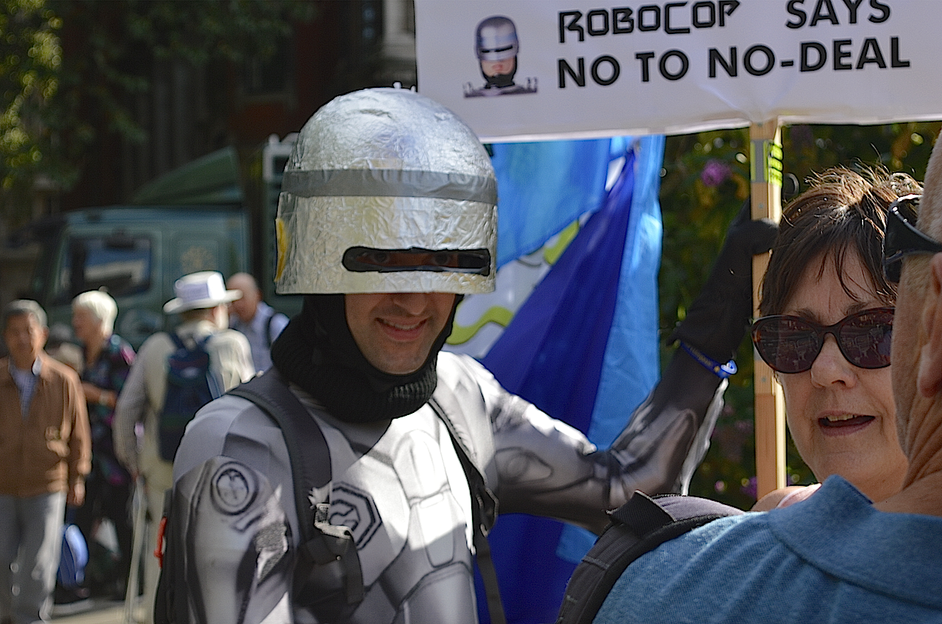 Robocop Remainer interviewed about Boris's coup