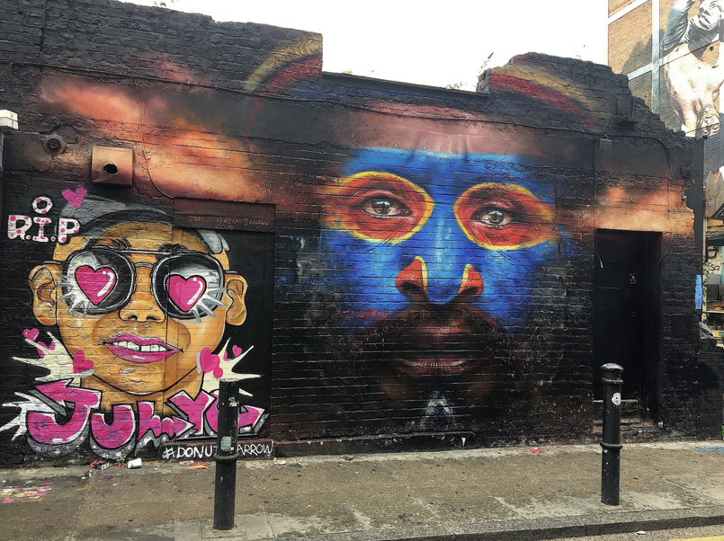 Brick Lane Graffiti