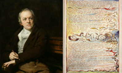 William Blake, Europe: A Prophey, engraving, relief print.