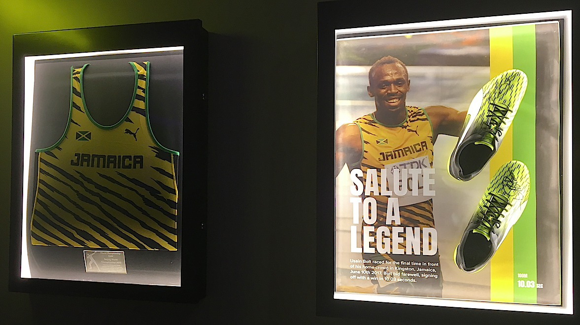Usain Bolt's Tracks & Records restaurant, Middlesex Street