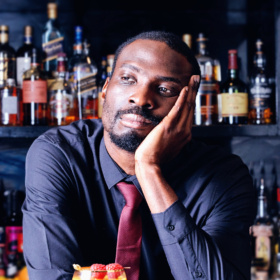 Oi Barman! Poet Joshua Idehen performs at Bird of Smithsfield