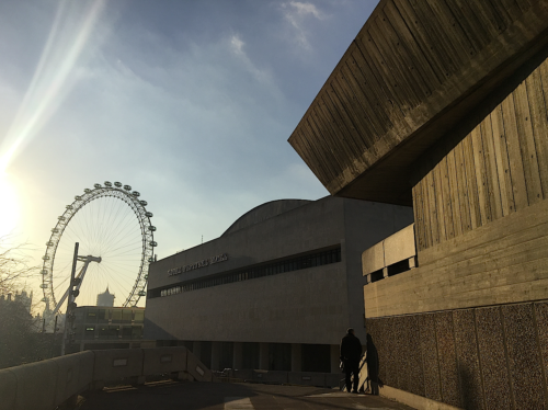South Bank's Brutalist architecture. National Theatre, Purcell Rooms, Hayward Gallery, Royal Festival Hall,
