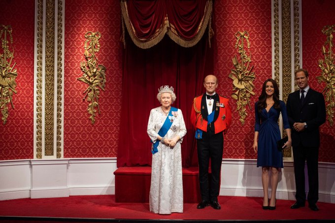 Harry and Meghan, Royal Family, Madame Tussauds,