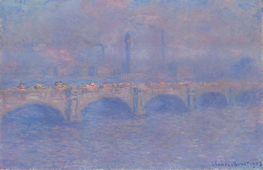 Waterloo Bridge , Claude Monet