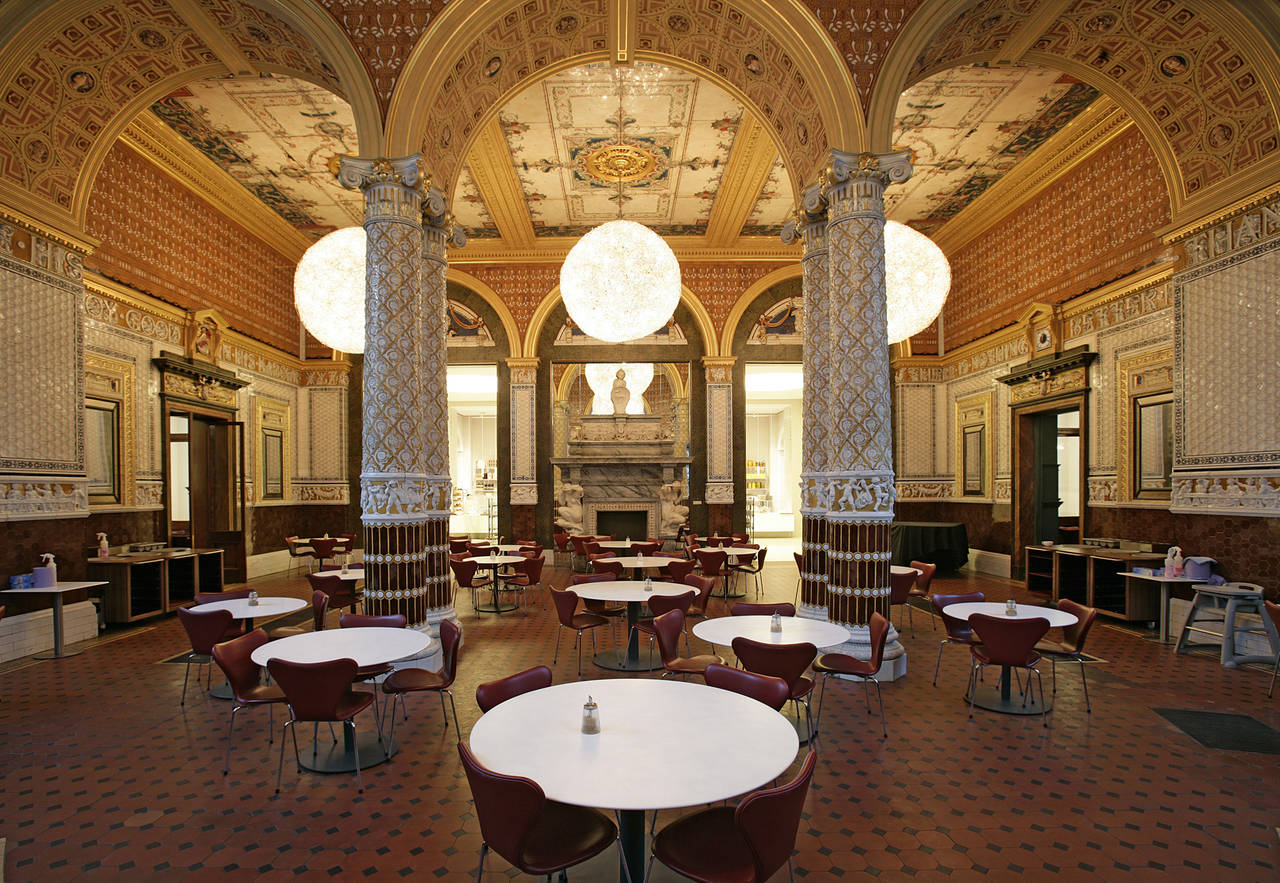 The Gamble Room, The V&A, museums dining
