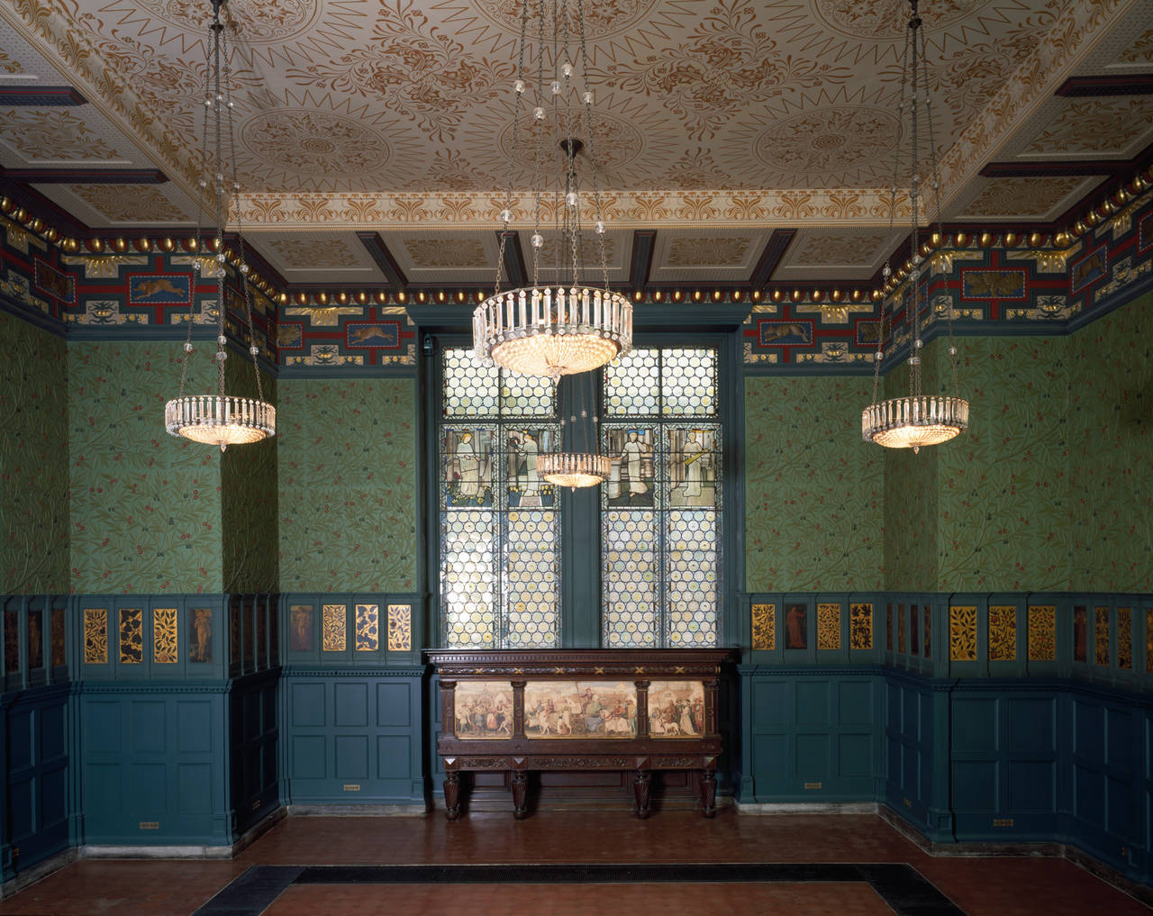 The Morris Room, The V&A, museums dining