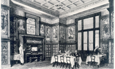 The Poynter Room, The V&A, museums dining