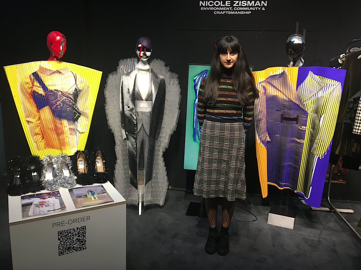 Designer Nicole Zisman, London Fashion Week, Best of Graduates
