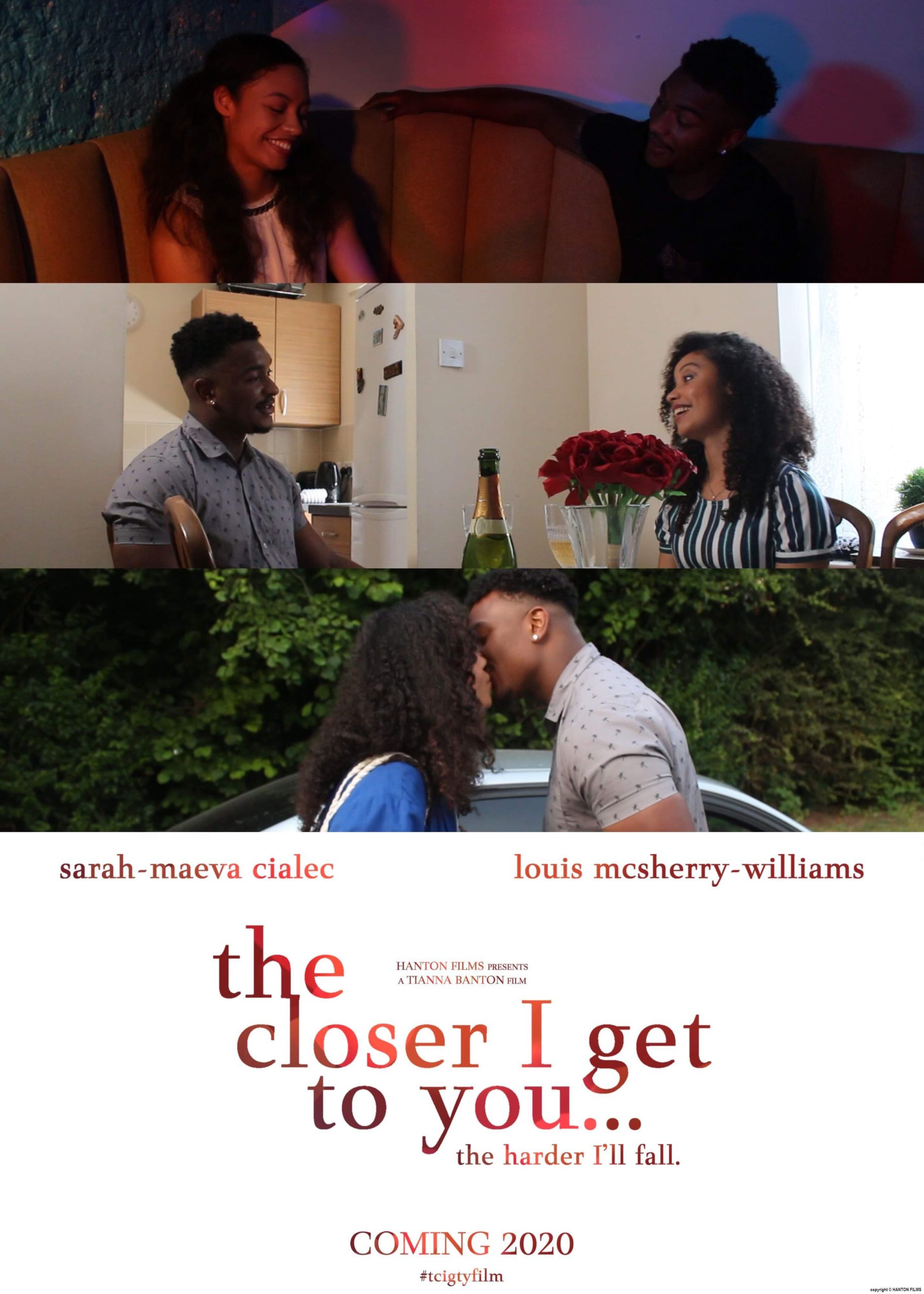 Tianna Banton, black, female film director, filmmaker, The Closer I Get To You